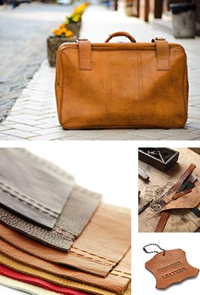 素材とデザインにこだわりをもって、財布、鞄をあつらえる