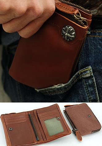 ブラックリリー二つ折り財布
