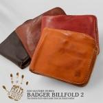 【ZOO】バジャービルフォールド2 イタリアンレザー 二つ折り財布